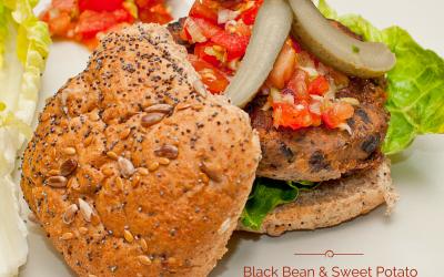 Black Bean & Sweet Potato Burgers