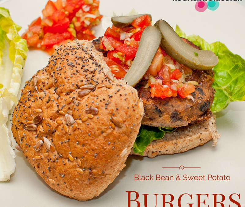 Black Bean & Sweet Potato Burgers