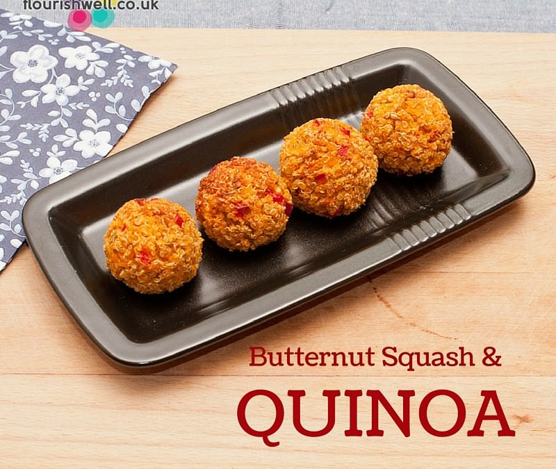 Butternut Squash & Quinoa Bites