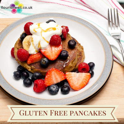 Gluten Free Pancakes | Flourish Wellbeing