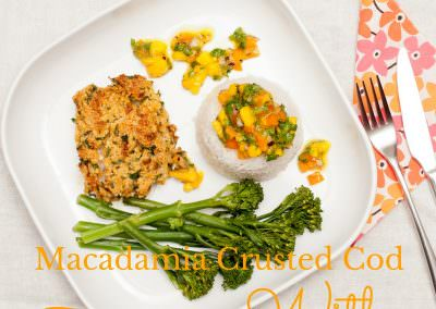 macadamia-crusted-cod