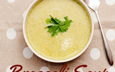 Broccoli Soup with Fragrant Thai Spices