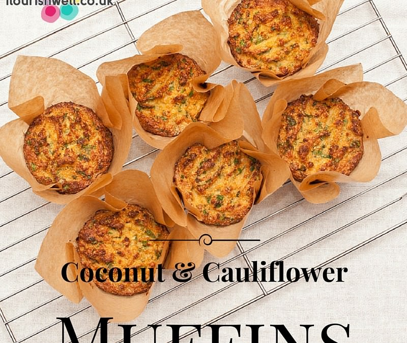 Coconut & Cauliflower Muffins