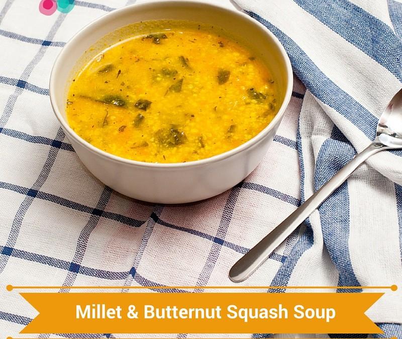 Millet & Butternut Squash Soup