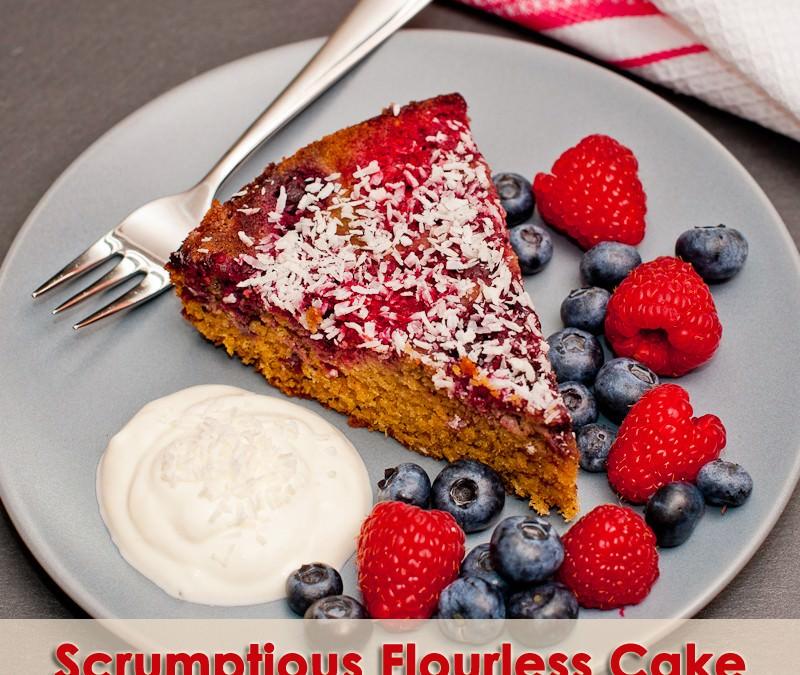 Scrumptious Flourless Cake