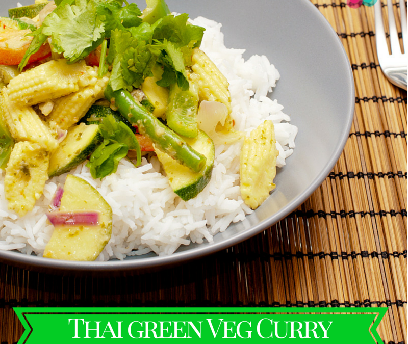 Thai Green Veg Curry