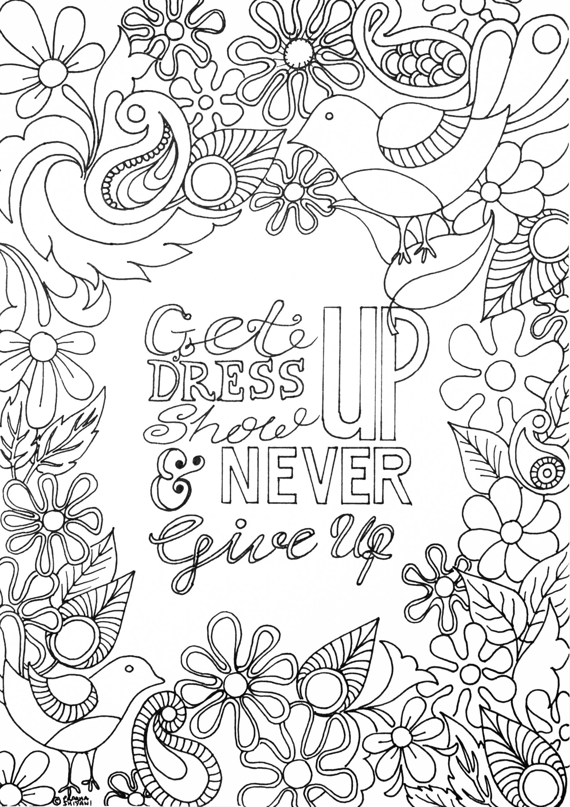 Mindfulness Activity Coloring Coloring Pages