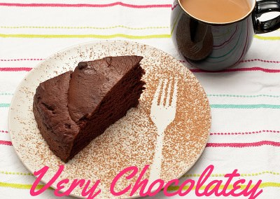 Very Chocolatey Gluten Free & Vegan Friendly Cake