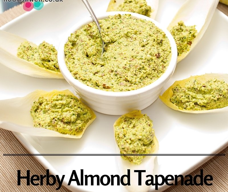 Herby Almond Tapenade