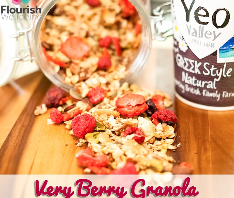 Very Berry Granola